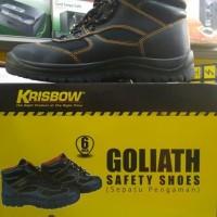Sepatu Safety Krisbow Goliath 6Inchi Promo Surososhop28