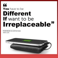 Has Smart Wallet Power Bank With Built-in Cable Rechargable
