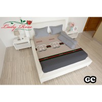 Sprei LADY ROSE - GC - 160x200 (Queen Size)