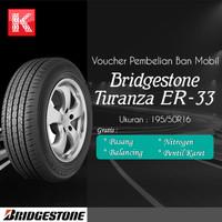 Ban Mobil Bridgestone Turanza ER33 195/50R16 (Vocer)
