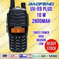 HT BAOFENG UV-X9 PLUS / UVX9 PLUS - 10 W DUAL BAND DUAL PTT