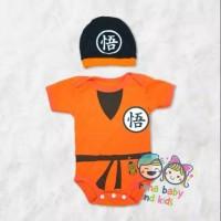 Goku Baby Jumper DragonBall Costume Bayi Jumpsuit Romper Local Brand
