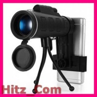 Lensa Tele Zoom HD 40X60 untuk Smartphone WGWYJ01 Black