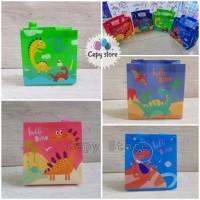 Tas Souvenir Ulang Tahun Anak / Goodie Bag / Tas Ultah Dinosaurus-S