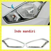garnish list cover Lampu Depan Datsun go