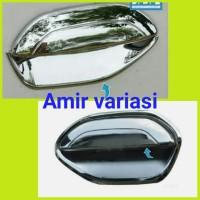 Paket outer + cover door handle mangkok Mobil Datsun GO chrome