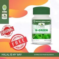N-GREEN KLOROFIL KAPSUL HNI HPAI | Herbal Anemia Anti Oksidan Anti Kan