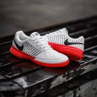 Sepatu Futsal Nike Lunar Gato II Wolfgreey pure platinum IC