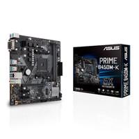 Asus PRIME B450M-K (AM4, B450, DDR4, USB3.1, SATA3)