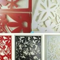 Terlaris Vintage 3D Plastik Sekat Penyekat Pembatas Ruang Ruangan