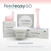 Baby Feeding Traveling Kit FEEDEASY GO 3 in 1