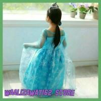 Ready Dress Anak Gaun Baju Anak Frozen Gaun Pesta Anak Baju Prozen