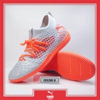 Sepatu Futsal Puma Future 4.3 Netfit IT Glacial Blue Original 10568601