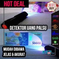 Senter UV Lampu Detektor Uang Palsu LED 395nm Money Detector Pocketman