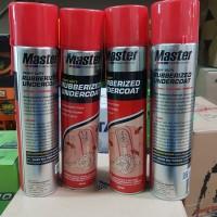 anti karat kolong mobil master rubberized undercoat paket 4 kaleng
