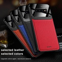 SAMSUNG GALAXY NOTE 9 LEATHER CASE FUNDOS DESIGN BACK COVER SOFT TPU