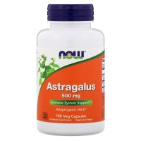 Now Foods, Astragalus, 500 mg, 100 Veg Capsules