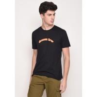 Skelly Original Kaos Bergambar Pria Dream Low Graphic T-Shirt Hitam