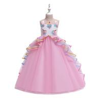 Dress Tutu Panjang Anak Motif Unicorn