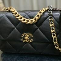 Bag Chanel FB lambskin leather 30cm