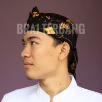 blangkon ikat iket totopong sunda motif batik khas jawa barat