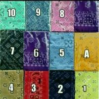 masker slayer bandana motif batik