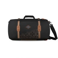 Tas Eiger 5338 Duffle M Borneo Backpack 40L Ransel Travel Bag - Black