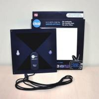 HDTV CLEAR INDOOR ANTENNA antena tv digital antene televisi dalam