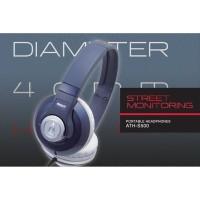 Audio Technica ATH S500 - ATHS500 - S 500 Street Monitoring Headphone