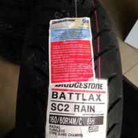 BAN LUAR BRIDGESTONE BATTLAX SC2 RAIN UKURAN 160/60-14 XMAX