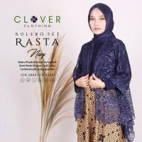 Bobybutik Baju Gamis Wanita Muslimah Pesta Batik Brokat Bolero Set
