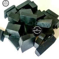 Bahan atau Rough Black Jade Aceh Super