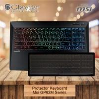 Keyboard Protector Cover Msi GP62M 7REX GP62MVR 7RFX Leopard Pro Coosk