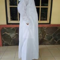 Gamis Pria Gamis pria jubah laki laki putih dewasa baju ihram haji dan
