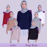 Baju wanita muslim Inner / Manset Baju Elzatta Hijab Tunaya Yasmin