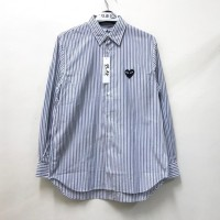 Comme De Garcons CDG Play Black Striped Shirt A 100% Original