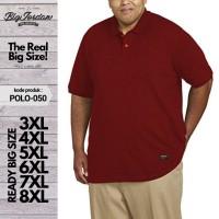 Kaos Polo Shirt BIGSIZE XXL XXXL XXXXL Baju Kerah Pria Jumbo 2XL 3XL