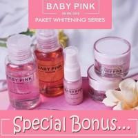 NEW PAKET WHITENING SERIES BABYPINK - BABY PINK SKINCARE
