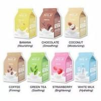 APIEU Milk One Pack Mask Sheet