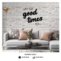Hiasan Dinding AKRILIK - GOOD TIMES - Wall Decor Cafe / Living Room