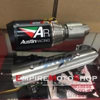 Knalpot AR Austin Racing Ninja 250 Fi 2018 Ninja 400 Slip On Original