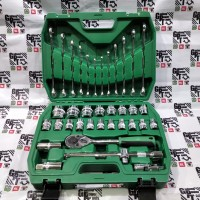 Kunci Sok Shock Soket Kunci Ring Pas Set Toolbox 36pcs