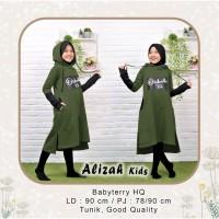 Tunik Alizah Kid Army [Baju Muslim Anak 0152] TBR Baju Gamis Anak