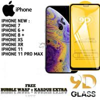 IPHONE XS 11 PRO MAX Tempered Glass/ Anti Gores Kaca FulLem 5D/9D - iP 11 Pro Max