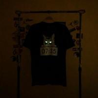 ADSW T-Shirt 07:35 Smitty Premium Distro Black (Combed24s L & XL) GITD