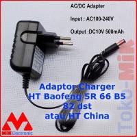 ADAPTOR CHARGER HT BAOFENG UV-5R UV5R/A/C/E UV-66 UV-82 UV-B5 GT-3