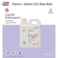 900ml - Pureco Liquid Laundry Detergent 900ml Sabun Cuci Baju Bayi