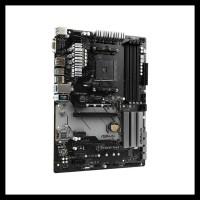 BARANG BAGUS ASROCK B450 PRO 4 (AM4, AMD PROMONTORY B450, DDR4,