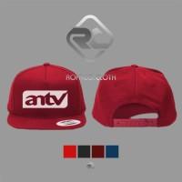 TOPI SNAPBACK LOGO ANTV - ROFFICO CLOTH