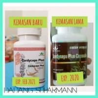 Hot Obat Asma/Bronkhitis/Tbc/Perokok/Cordyceps Plus Green World